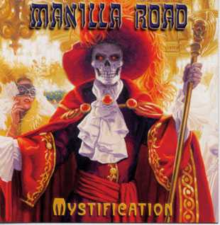 Manilla Road Mystification cover