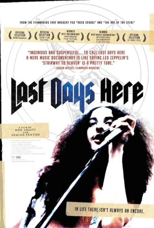 Pentagram Last-Days-Here-Poster